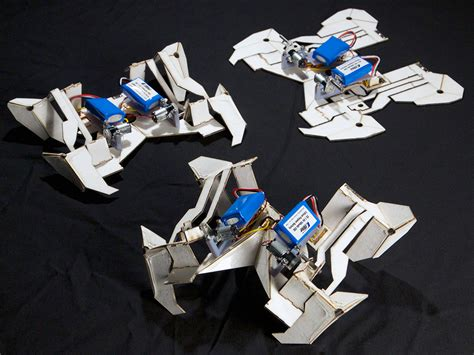 How To Make A Robot With Paper - the design thinking mit s origami