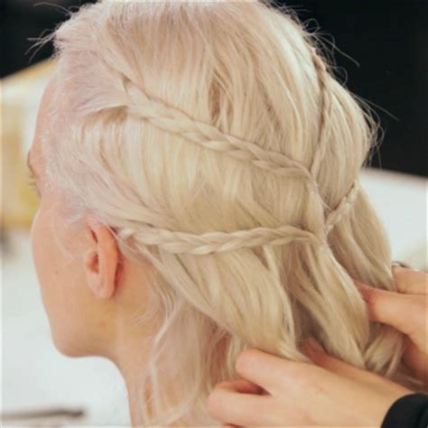 how to do khaleesi braids game of thrones makeover how to get khaleesi s beauty