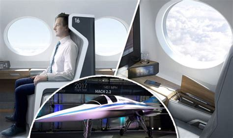 boom interieur concorde comeback supersonic passenger jet faster than