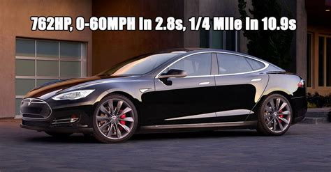 Tesla S Quarter Mile Tesla S New 762hp Model S P90d With Ludicrous Speed
