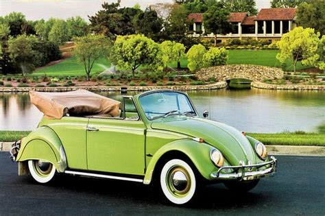 green volkswagen beetle convertible vw beetle convertible green das vintage vw beetle s
