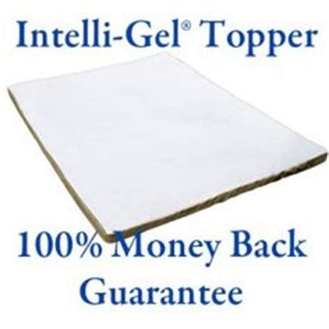 Intelli Gel Mattress Topper by 1000 Images About Intellibed On Mattress