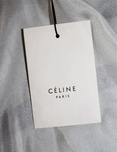 design label for clothing celine swing tag google search designer labels and