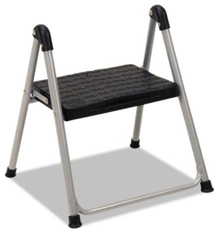 all modern step stool cosco folding step stool 1 step 200lb 9 9 10 quot working