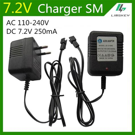 7 2v battery pack and charger 7 2v 250 ma charger fpr nicd and nimh battery pack charger
