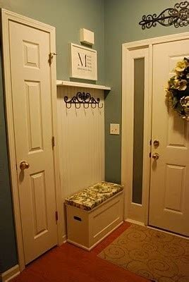 Laundry Room Entryway by Tiny Mudroom Idea We A Smidge Of Space For Something