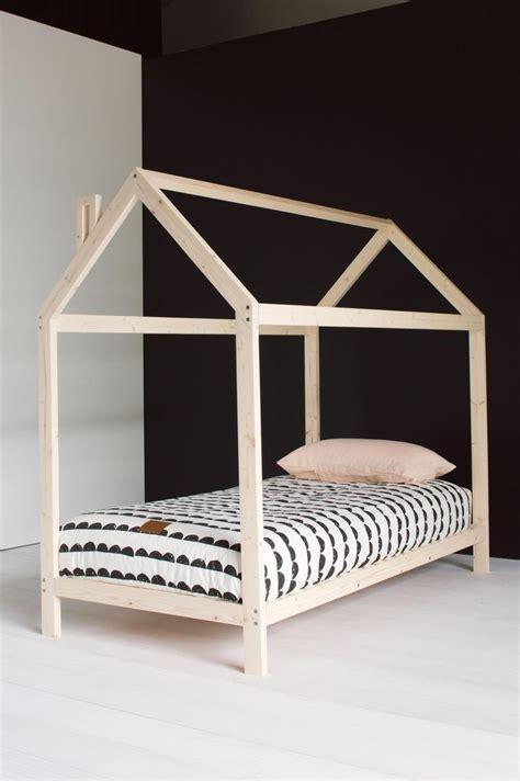 Scandinavian Bed Frames Wooden House Kid Bedframe Scandinavian Chic Children S Rooms Children