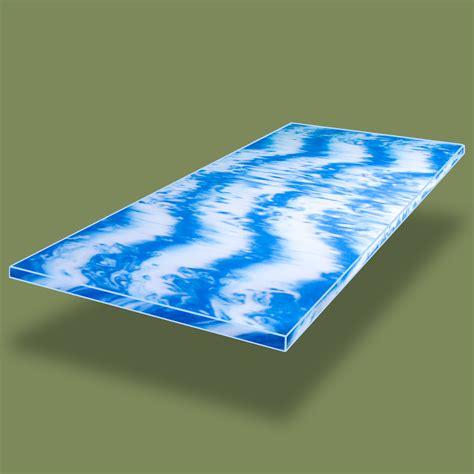matratzen 90x200 100 kg gelschaum topper hydroblu gel matratzenauflage rg40kg m 179