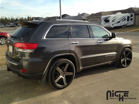 jeep grand cherokee custom jeep grand cherokee custom wheels niche milan m134 suv