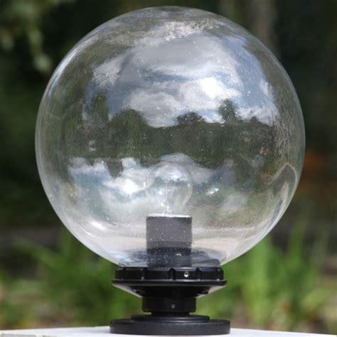 Glaskugel Leuchte Terra Lumi Ld 250 Mit Rundem Sockel
