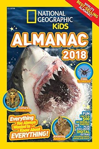 national geographic kids almanac 2018 by national
