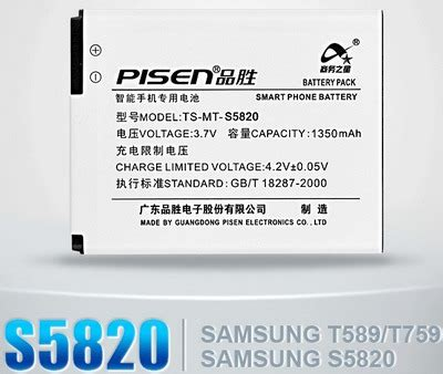 Baterai Samsung I8150 S5820 Galaxy S5690 compatible battery for samsung s5820 w689 i8150 s5690