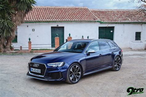 Audi Rs4 B9 by Audi Rs4 Avant B9 Back To The Future 9tro