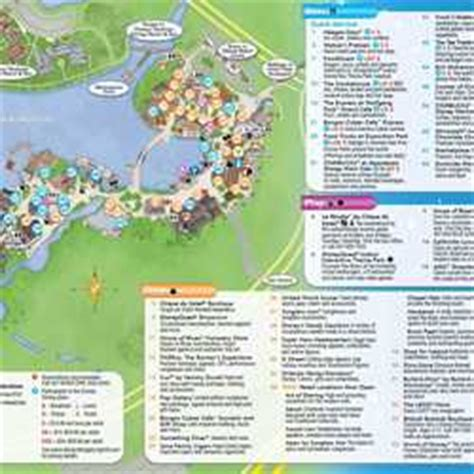 photos new downtown disney guide map includes disney