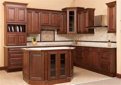 bottom kitchen cabinets saddle brown base kitchen cabinet rta brown base cabinet
