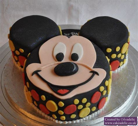 mouse mickey template cake ideas and designs