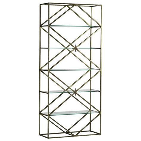 Diamon Glass Motif Gloria Display lupino regency gold glass etagere kathy kuo