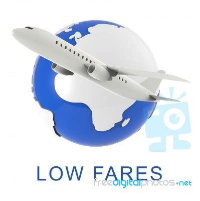 fares shows discount airfare  rendering stock image royalty  image id