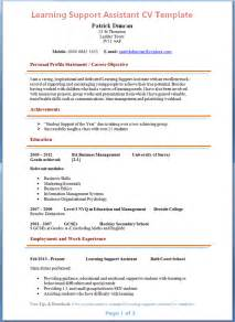 Learning Support Assistant Sle Resume by Learning Support Assistant Cv Exle Preview