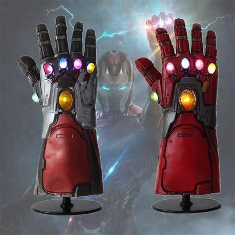 led iron man infinity gauntlet avengers endgame led tony