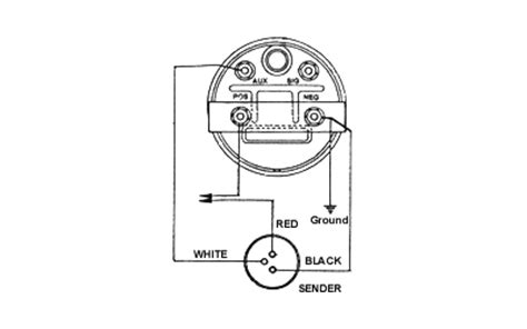 auto tach wiring diagram auto tachometer