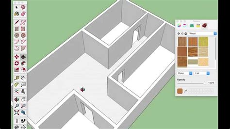 google sketchup house tutorial basic simple 3d house exle in sketchup for absolute beginners