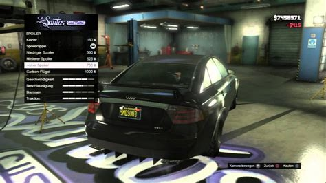 Auto Michel by Gta 5 Obey Tailgater Tuning Michael Car