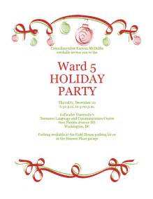 ward christmas party program vekonorthsan over blog com