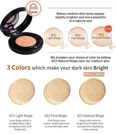 April Skin Magic Cushion White 2 0 april skin magic snow cushion compact foundation spf50