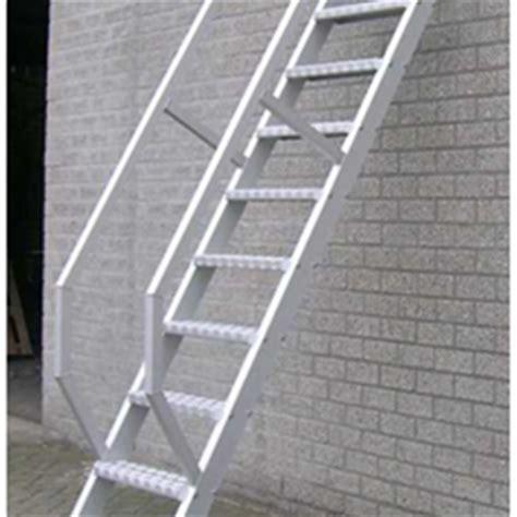 aluminium trap met leuning enkele trap online kopen sls