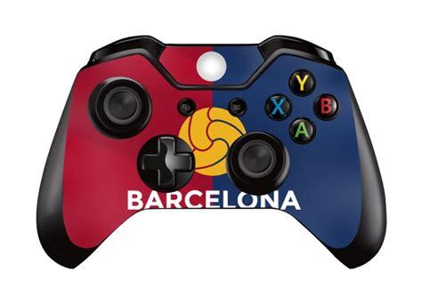 barcelona xbox controller barcelona premium xbox one console skins xbox one
