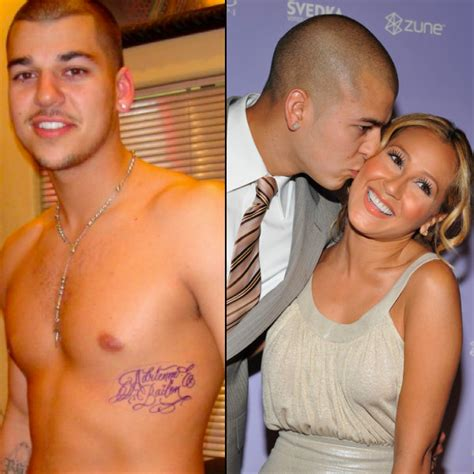 rob kardashian s ex adrienne bailon removes tattoo of his