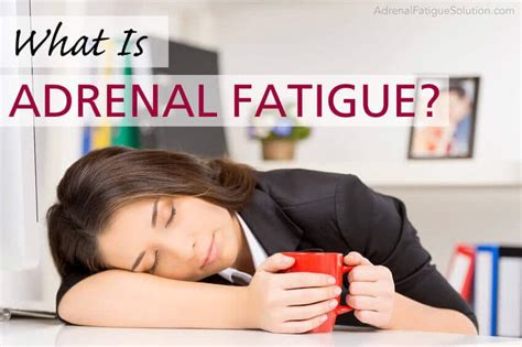 Why Mercury Detox Cause Exhaustian by What Is Adrenal Fatigue Adrenal Fatigue Solution