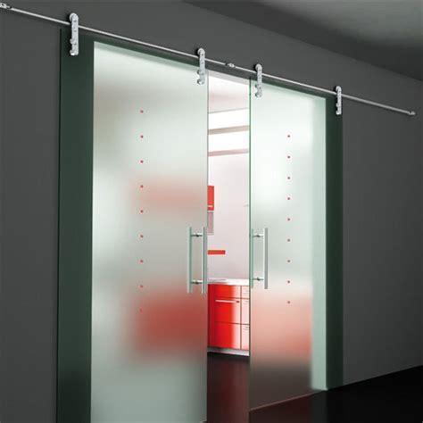 Sliding Door Hardware, Flux Series Double Sliding Door