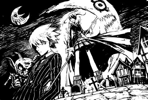 imagenes anime black and white wallpapers de anime muy interesantes en blanco y negro
