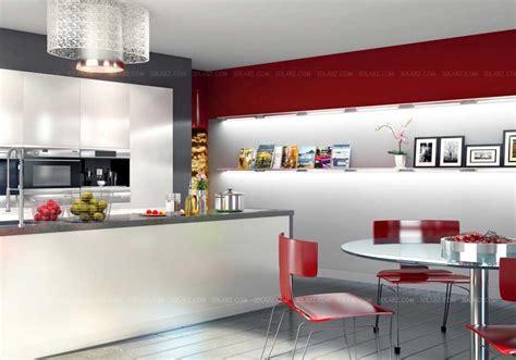 modern kitchen interior 3d rendering kitchen interior 3d rendering views kitchen 3d images