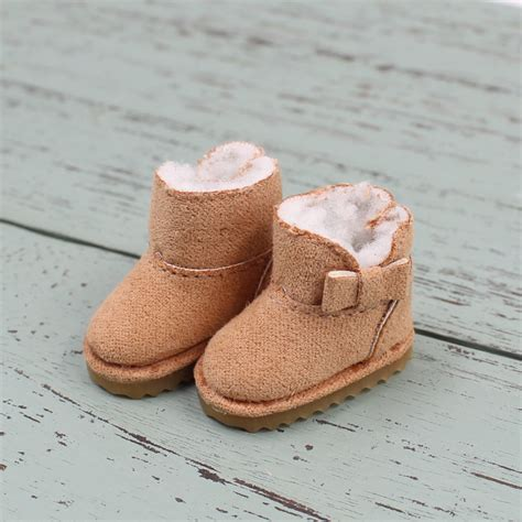 Snow Doll Wedge 5cm winter boots snow shoes for blyth icy about 3 5cm 1 6 bjd