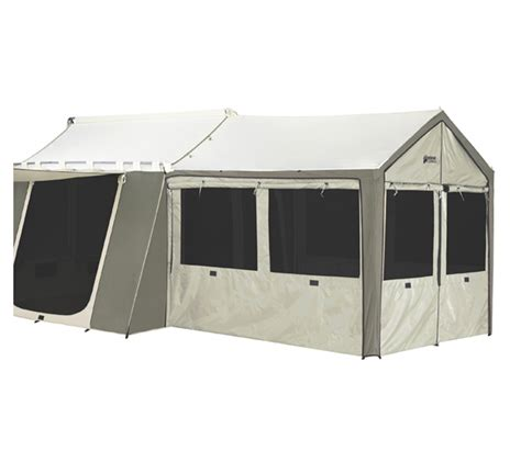 Kodiak Canvas Cabin Tent With Awning by Kodiak Canvas 8x8 5 Wall Enclosure For 12x9 Cabin Tent