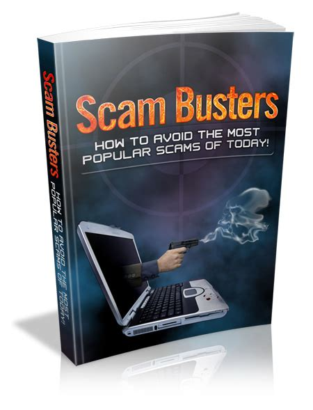 Scam Busters by Scam Busters Plr Ebook