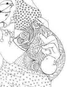 free coloring books free pregnancy coloring pages