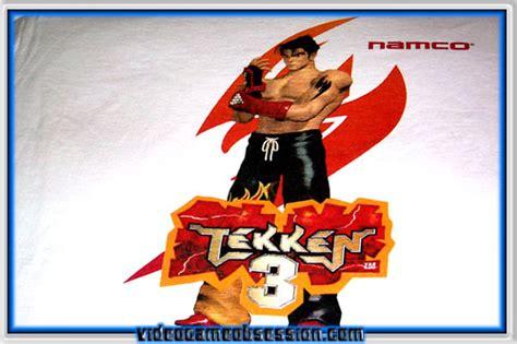 T Shirt Tekken 01 promos videogameobsession c 1996 present