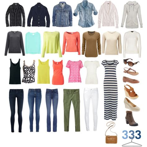 Project Wardrobe by Project 333 Capsule Wardrobe Polyvore