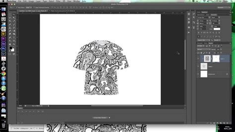 Adobe Photoshop Cs6 Templates creating a clipping mask in photoshop cs6 for t shirt