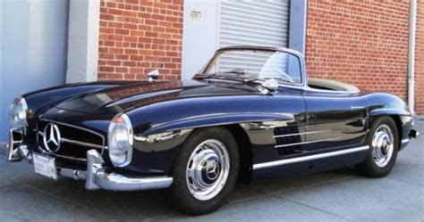 1960 mercedes 300 sl roadster auctions for 405 000