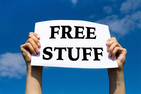 free stuff 15 things you can always get for free