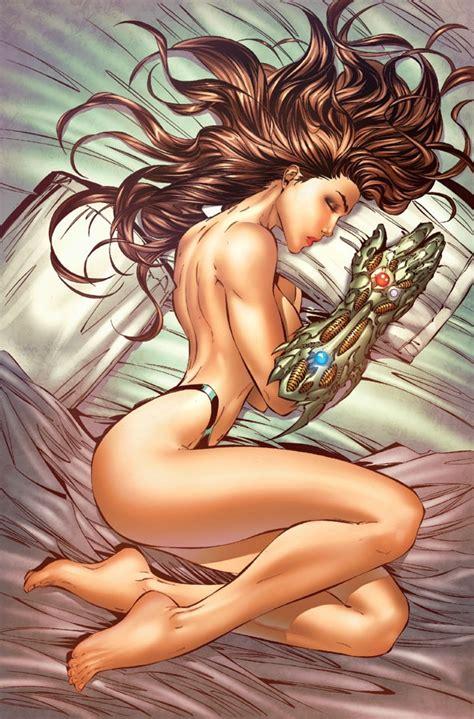 Witchblade Nude Pinup Witchblade Sara Pezzini Erotica