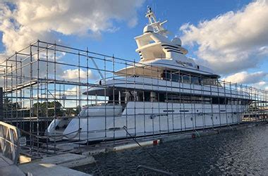 boat shrink wrap west palm beach southern cross boat works yacht services florida