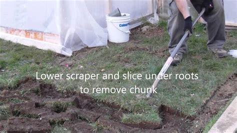 remove grass youtube