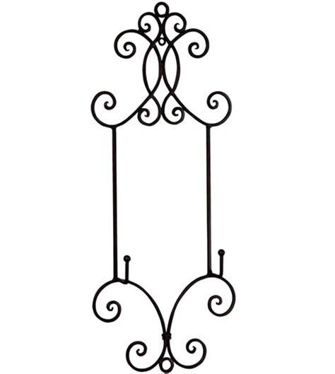 decorative wall easel wrought iron decorative display easel in decorative plate