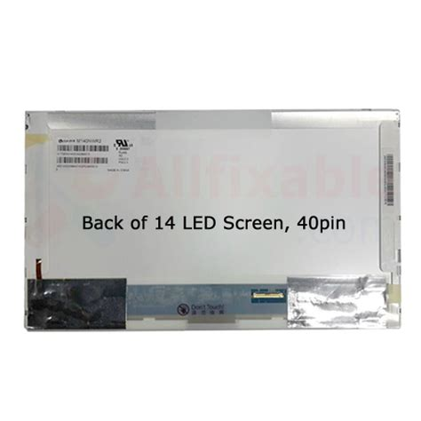 Lcd Led 14 0 Asus K40ij oem compatible for asus a43s x42d x43 x44h x45 x451ma x452l